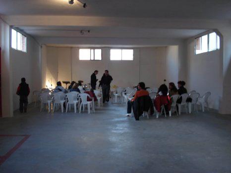 Primeros cultos en la Iglesia en calleHaya 11