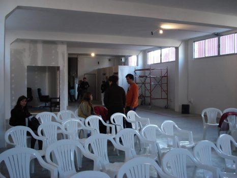Primeros cultos en la iglesia calle Haya 11 .2